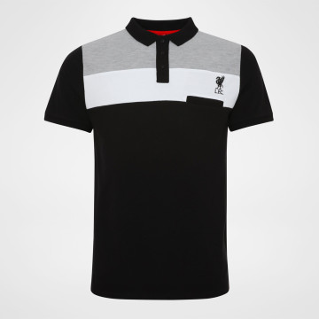 Colour Pocket Polo - Black