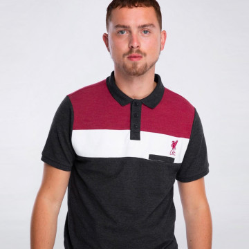 Colour Pocket Polo - Charcoal