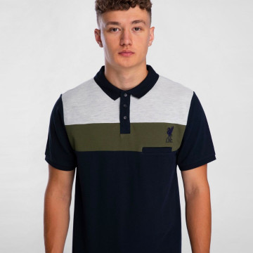 Colour Pocket Polo - Navy