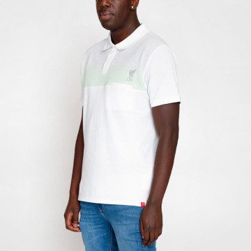 Colour Pocket Polo - White