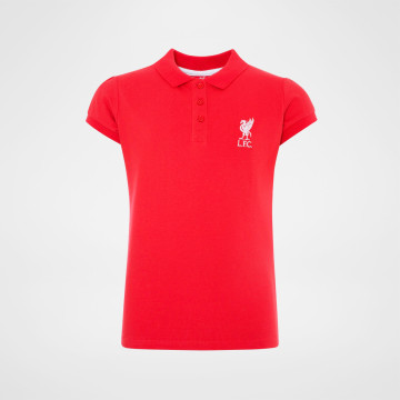 Girls Polo - Red