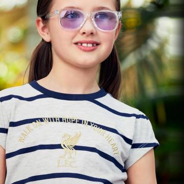 Girls Stripe Hope Tee - Junior