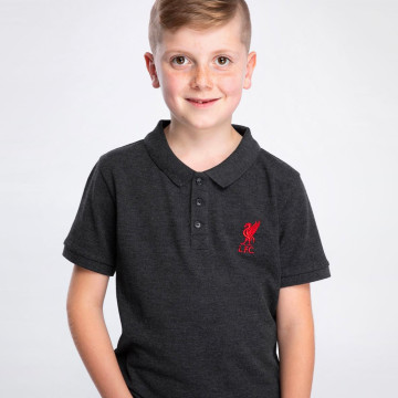 Junior Polo - Charcoal