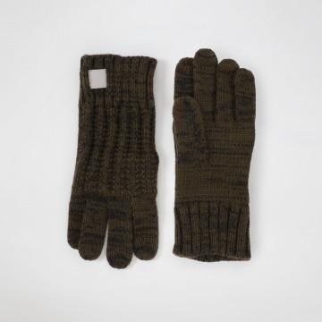 Khaki Knitted Glove