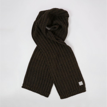Khaki Knitted Scarf