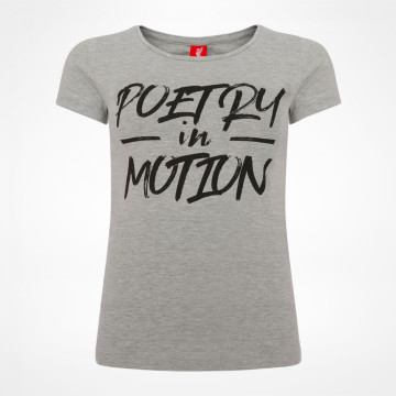 Ladies Poetry In Motion T-shirt