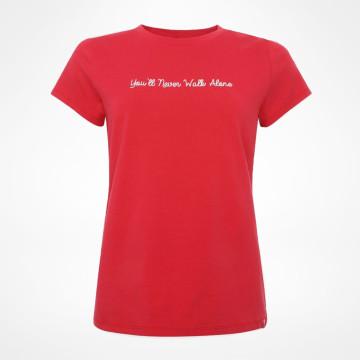 T-shirt Dam YNWA - Röd