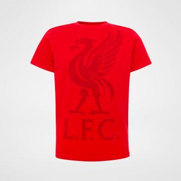 T-skjorte Liverbird Rød - Junior