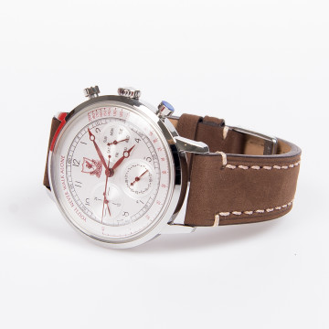 Mens Leather Strap Watch