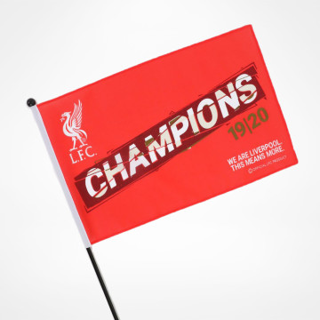 PL Champions Handheld Flag