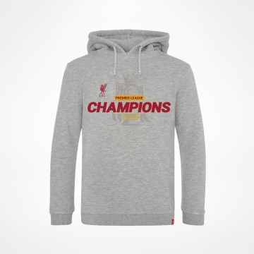 PL Champions Junior Hoodie - Grey