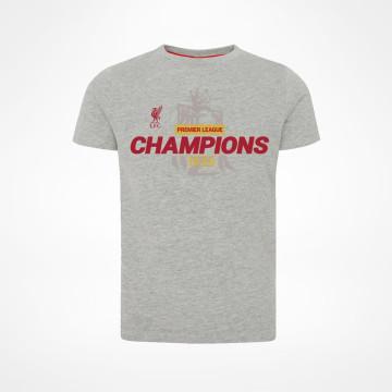 T-paita PL Champions Harmaa - Juniori