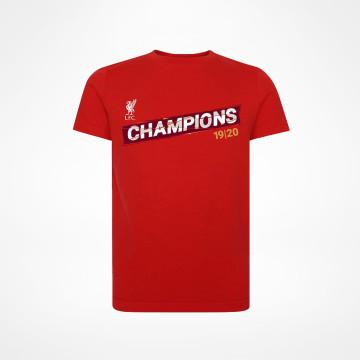 T-paita PL Champions Punainen - Juniori