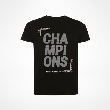 T-paita PL Champions Musta - Juniori