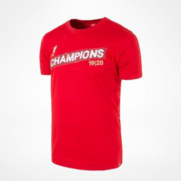 T-shirt PL Champions - Röd