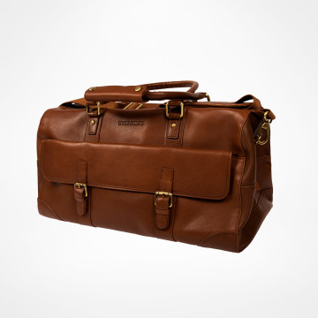 Weekendbag Signature - Brun