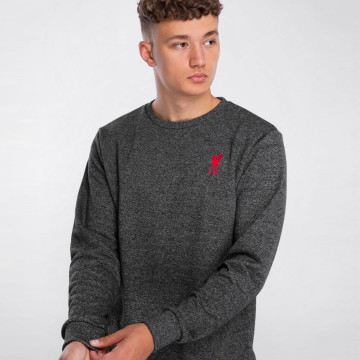 Sweatshirt Crew Neck - Charcoal