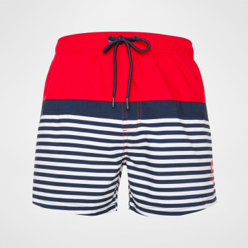 Swim Shorts - Red/Navy