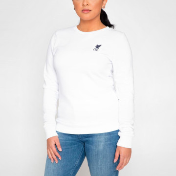 Womans Crew Neck - White