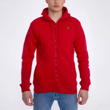 Zip Hoody - Red