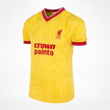 25a55b7f99d Liverpool 1986 Home Shirt at Sam Dodds