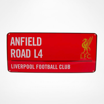 Skylt Anfield Road RD