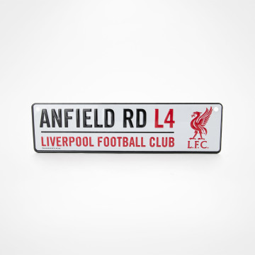 Fönsterskylt Anfield RD