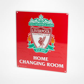 Changing Room Sign