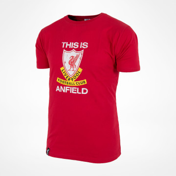This Is Anfield T-skjorte - Rød