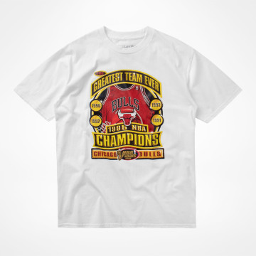 Last Dance 96 Champs Tee White