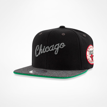 Melange Patch Snapback
