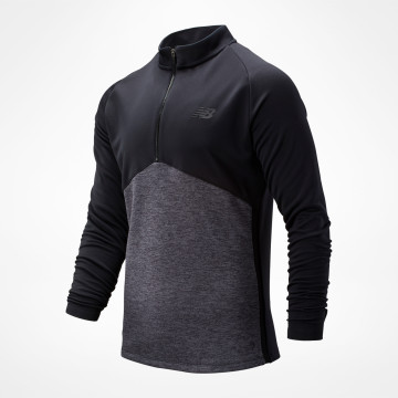 Core Knit Drill Top - Black