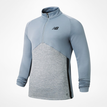 Core Knit Drill Top - Grey