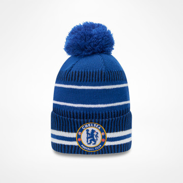 Bobble Knit Hat Jake - Blue