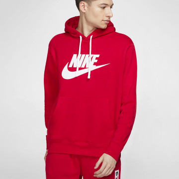 Club Fleece Hoodie - Red