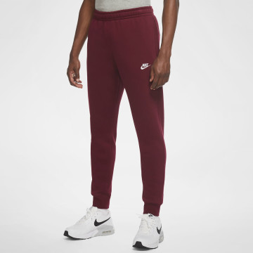 Club Fleece Pants - Dark Red