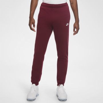 Club Sweatpants - Dark Red