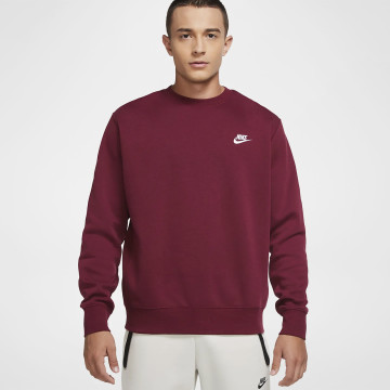 Sweatshirt Club - Mörkröd