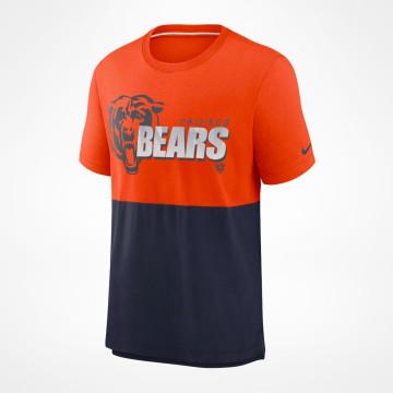 Logo Name Colorblock T-Shirt