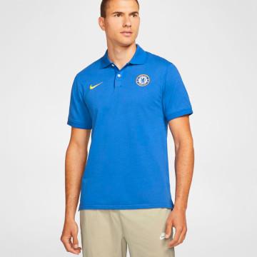 Slim Polo Shirt - Blue