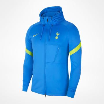 Strike Hooded Tracksuit Jacket - Blue