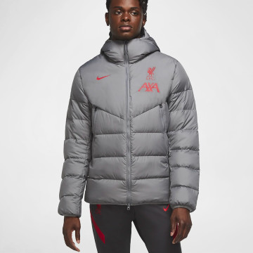 Coaches Strike Jacket Grey