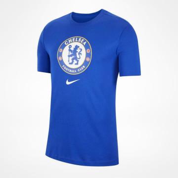T-shirt Crest - Blå