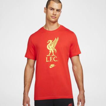 T-shirt Futura Crest - Röd