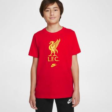T-shirt Futura Crest Röd - Junior