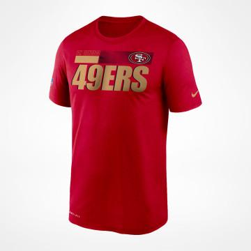 T-shirt Sideline Legend - Röd