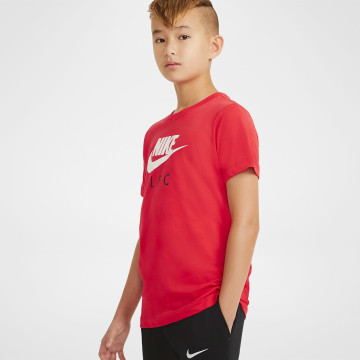 TR Ground NK Tee Junior - Red