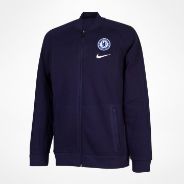 Track Jacket Fleece - Navy