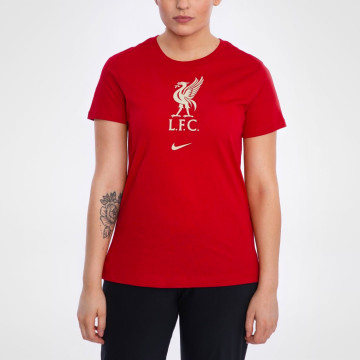Womans Evergreen Tee - Gym Red
