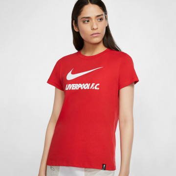 Womens Training Ground Tee - Red